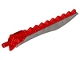 Part No: 98568pb02  Name: Hero Factory Weapon - Saw with Flat Silver Sword Blade
