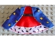 Part No: cape02  Name: Duplo Wear Cloth Cape with King's Robe Pattern