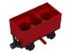 Part No: x488c02  Name: Train Battery Box Car with Red Switch and Black Wheels