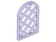 Part No: 30046  Name: Window 1 x 2 x 2 2/3 Pane Lattice Diamond with Rounded Top
