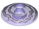 Part No: 4740pb011  Name: Dish 2 x 2 Inverted (Radar) with Lavender and White Electricity Pattern