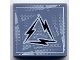 Part No: 3068bpb0069  Name: Tile 2 x 2 with Alpha Team Arctic Lightning Logo Pattern