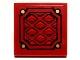 Part No: 3068bpb0601  Name: Tile 2 x 2 with Diamond Sheet Metal Pattern (Sticker) - Set 9448