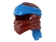 Part No: 40925pb04  Name: Minifigure, Headgear Ninjago Wrap Type 4 with Dark Azure Headband Pattern