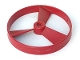 Part No: 50899b  Name: Bionicle Rhotuka Spinner, Solid Color - With Code on Side