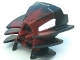 Part No: 60906pb01  Name: Bionicle Mask Radiak with Black Top