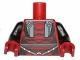 Part No: 973pb1688c01  Name: Torso SW Darth Revan Armor Pattern / Black Arms / Dark Red Hands