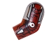 Part No: 981pb064  Name: Arm, Left with Flat Silver Shoulder and Iron Man Armor Pattern