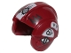 Part No: x164pb19  Name: Minifigure, Headgear Helmet SW Rebel Pilot with White and Black Insignia Pattern (Sandspeeder Pilot)