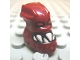Part No: x1813px1  Name: Minifigure, Head Modified Bionicle Piraka Hakann with Eyes and Teeth Pattern