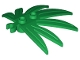 Part No: 10884  Name: Plant Leaves 6 x 5 Swordleaf with Clip (thick open O clip)