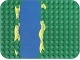 Part No: 31074  Name: Duplo, Baseplate 12 x 16 with River Pattern