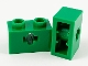 Lot ID: 160886848  Part No: 32064c  Name: Technic, Brick 1 x 2 with Axle Hole and Inside Side Supports