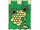 Part No: 4066pb096  Name: Duplo, Brick 1 x 2 x 2 with Honeycomb Pattern