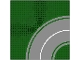 Part No: 613p01  Name: Baseplate, Road 32 x 32 8-Stud Curve with Road Pattern