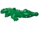 Part No: 87963c01pb01  Name: Duplo Alligator Type 3 - Mouth Opens, Wide Snout, Eyes Pattern