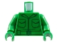 Part No: 973pb0627c01  Name: Torso Army Jacket with 2 Pockets and Green Belt Pattern / Green Arms / Green Hands