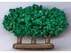Part No: GTBush3  Name: Plant, Tree Granulated Bush with 3 Trunks