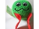 Part No: pri049  Name: Primo Shape Sorter Cloth Shape Round Frog with Bell