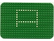 Part No: x243px1  Name: Baseplate 16 x 24 Rounded Corners and Set 344 Dots Pattern