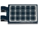 Part No: 30350bpb083  Name: Tile, Modified 2 x 3 with 2 Clips with Solar Panels Pattern (Sticker) - Set 60224
