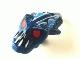 Part No: 57582pb01  Name: Minifigure, Head Modified Bionicle Barraki Takadox