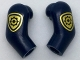 Part No: 981982pb111  Name: Arm, (Matching Left and Right) Pair with Gold Police Badge Pattern