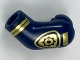 Part No: 981pb156  Name: Arm, Left with Gold Police Badge and Stripes Pattern