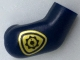 Part No: 982pb111  Name: Arm, Right with Gold Police Badge Pattern