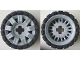 Part No: 45793c01  Name: Wheel 60 x 34 with Black Tire 81 x 40 Balloon Offset Tread