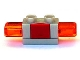 Part No: 52189c03  Name: Duplo Siren with Light, 1 x 2 Base with Red Button