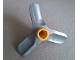 Part No: 6669c01  Name: Duplo, Toolo Propeller Small with Yellow Screw