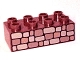 Part No: 3011pb006  Name: Duplo, Brick 2 x 4 with Stone Wall Pattern
