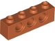 Part No: 3701  Name: Technic, Brick 1 x 4 with Holes