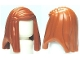 Part No: 92083  Name: Minifigure, Hair Female Long Straight with Left Side Part