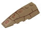 Part No: 41748pb038  Name: Wedge 6 x 2 Left with Bricks and Hieroglyphs Pattern