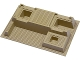 Part No: 51542  Name: Baseplate, Raised 32 x 48 x 6 with Level Front