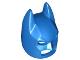 Part No: 10113  Name: Minifigure, Headgear Mask Batman Type 2 Cowl (Angular Ears, Pronounced Brow)