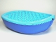 Part No: 15576c01  Name: Duplo Boat Hull 7 x 12 with Medium Azure Top