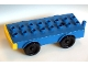 Part No: 2023c01  Name: Duplo Truck Base with Four Wheels and 2 x 8 Studs
