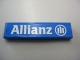 Part No: 2431pb123  Name: Tile 1 x 4 with 'Allianz' Pattern (Sticker) - Set 8461