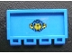 Part No: 2873pb11  Name: Hinge Train Gate 2 x 4 with Box and Arrows and Globe Pattern (Sticker) - Set 4555
