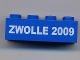 Lot ID: 16752845  Part No: 3001pb069  Name: Brick 2 x 4 with Zwolle 2009 Pattern