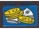 Part No: 3003pb015  Name: Brick 2 x 2 with Bills and Coins Pattern (Sticker) - Set 4165