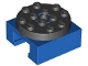 Part No: 30516c02  Name: Turntable 4 x 4 Locking Grooved Base with Black Top