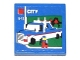 Part No: 3068bpb0858  Name: Tile 2 x 2 with Lego Tow Truck, 'CITY' and '5-12' Pattern (Sticker) - Set 60050