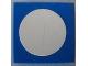 Part No: 3068pb28  Name: Tile 2 x 2 with White Circle Small Pattern (Sticker) - Set 269