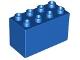 Part No: 31111  Name: Duplo, Brick 2 x 4 x 2