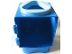 Part No: 31127cx6  Name: Primo Shape Sorter Chamber, Medium Blue Circle with Triangular Opening