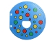 Part No: 31193pb07  Name: Duplo Ball Tube Exit Door with Polka Dots Pattern